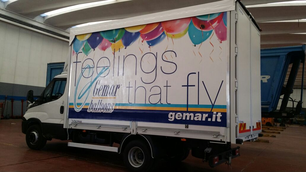 decorazione centinato gemar balloons